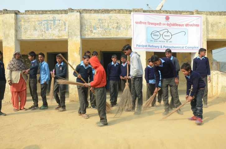 Cleanliness drive at Panipat- Jan 16