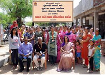 A special campaign programme on Hygiene & Health improvement for inhabitants