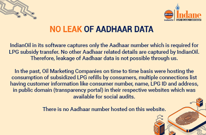 No leak of Aadhar Data