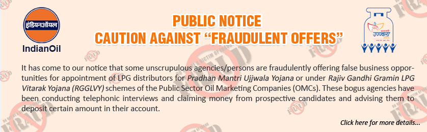 "PUBLIC NOTICE CAUTION AGAINST ""FRAUDULENT OFFERS"""