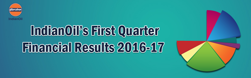 First Quarter Financial Results 2016-17