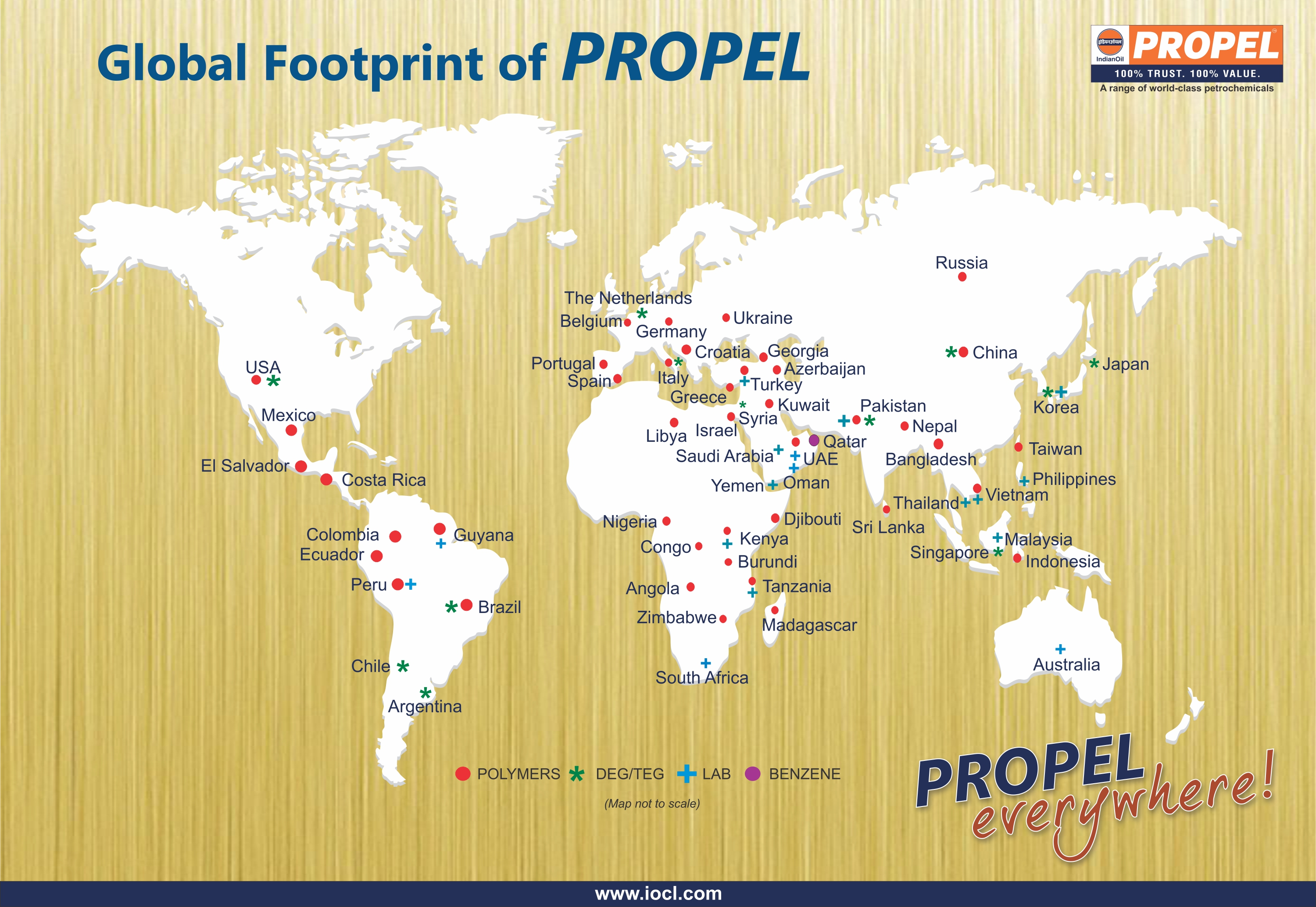Propel World Map