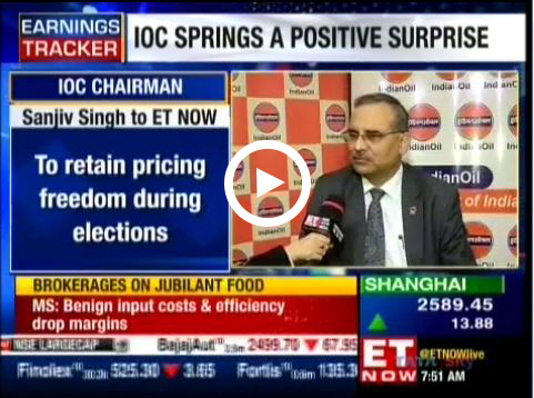Mr. Sanjiv Singh, Chairman, IndianOil speaks to ET Now on Q3 results - 2019
