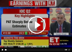 Mr. Sanjiv Singh, Chairman, IndianOil speaks to ET Now at Q2 Results