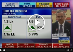 Mr Sanjiv Singh, Chairman, IndianOil spoke to BTVi on IndianOil's Q3